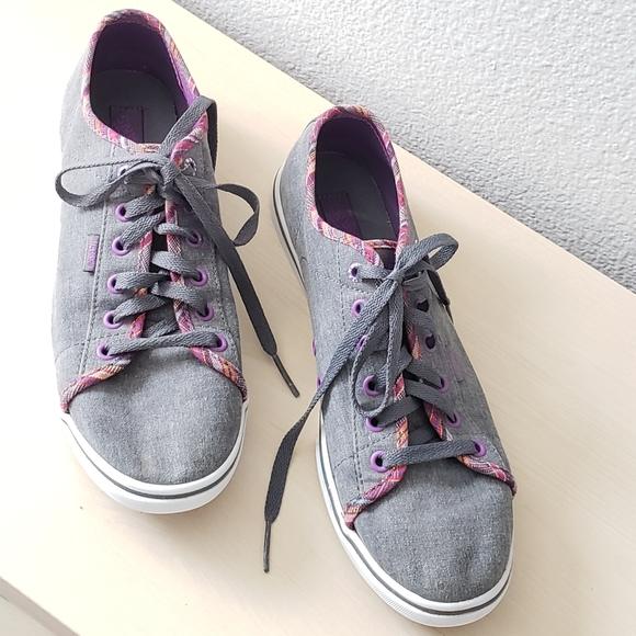 Vans Shoes | Tennis Grey And Purple